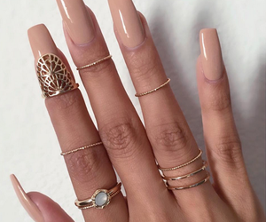 nails, rings, and ring image