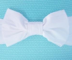 aqua, blue, and bow image