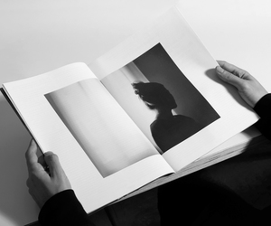 beautiful, black & white, and book image
