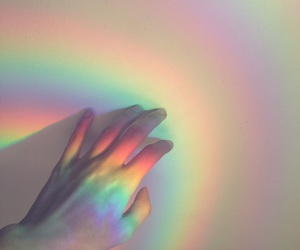 rainbow, aesthetic, and tumblr image