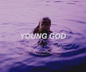 halsey, young god, and badlands image
