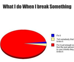 break, funny, and lmao image