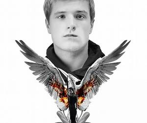 katniss, peeta mellark, and peeta image