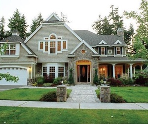 Houses, dream house, and mansion image