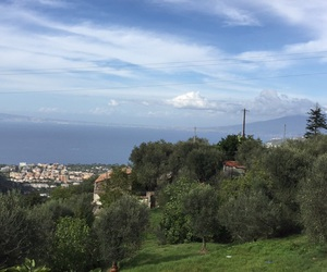 italy, landscapes, and sea image
