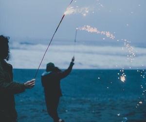 grunge, light, and beach image