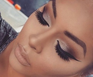 beautiful, lovely, and make up image