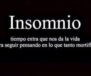 insomnio, frases, and quote image