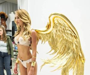 angel, candice swanepoel, and victoria secret image