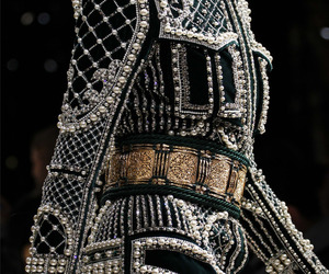 fashion, black, and Balmain image