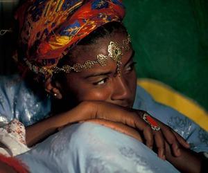 beauty and ethnic image