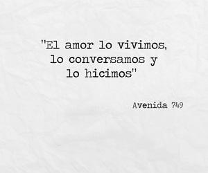 couple, espanol, and amor image
