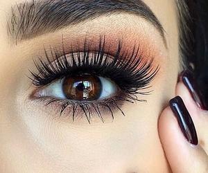 beauty, eye, and eyes image