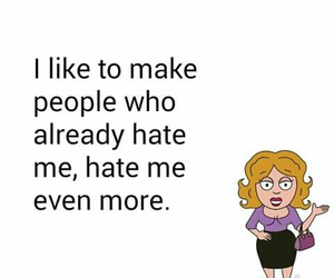 funny, hate, and haters image
