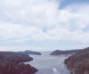 landscape, norway, and oslo image