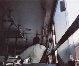 analog, bus, and photography image