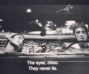 quote, eyes, and chico image