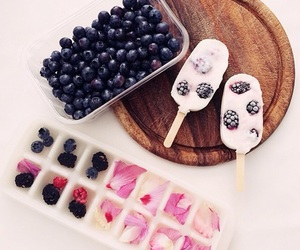 blueberry, fruit, and healthy image