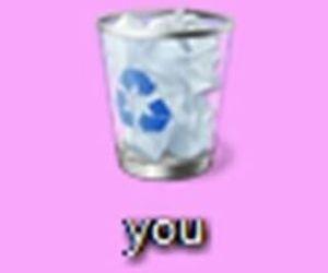 you, trash, and grunge image