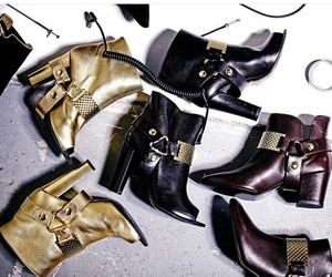 boots, leather, and fashion image
