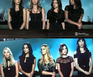 pretty little liars, pll, and girl image