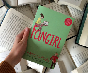 books and fangirl image
