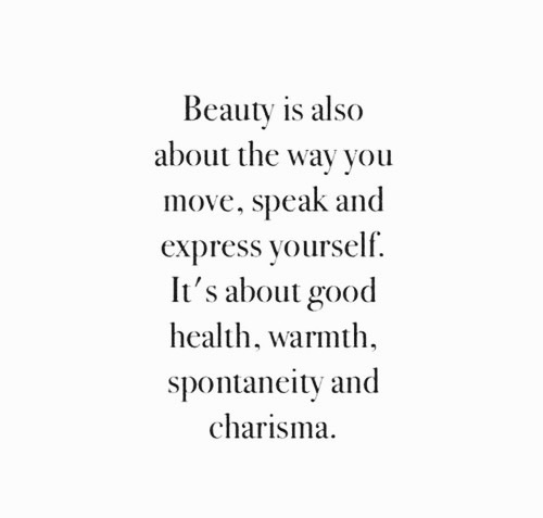 beauty, charisma, and speak image