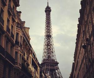 city, france, and eiffel image