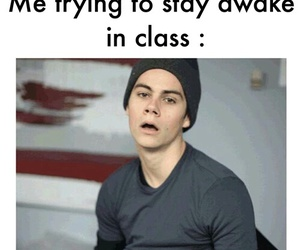 school, dylan o brien, and life image