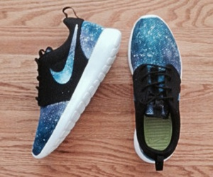 nike, shoes, and space image