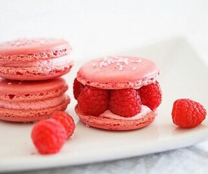 raspberry, food, and pink image