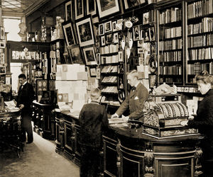 antique, book, and books image