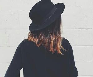 black, girl, and hair image
