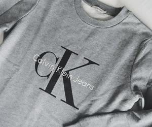 Calvin Klein and grey image