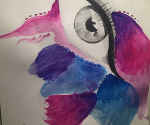 aquarelle, draw, and drawing image