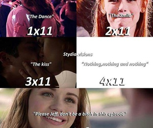 teen wolf, lydia, and stiles image