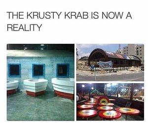 krusty krab and spongebob image
