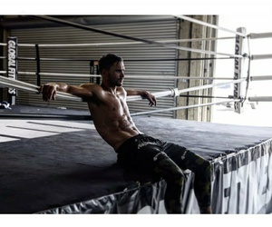abs, boxing, and shirtless image