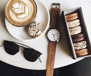 coffee, food, and watch image