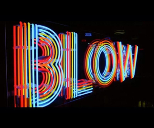 neon, blow, and light image