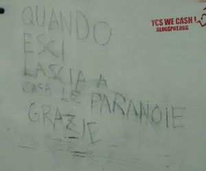 tumbr, paranoie, and frasi in italiano image