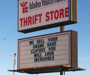 thrift shop, funny, and macklemore image