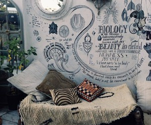 room, bedroom, and cool image