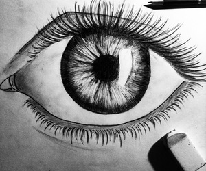 black&white, contraste, and drawing image
