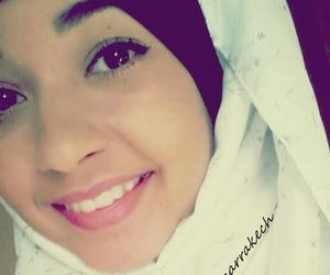 girl, hijab, and smile image