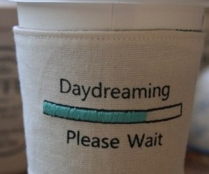 Dream, daydreaming, and coffee image