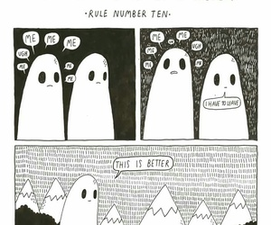 club, ghost, and sad image