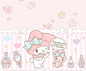 wallpaper, background, and sanrio image