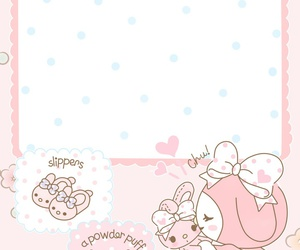 wallpaper, kawaii, and my melody image