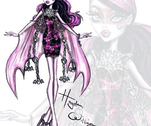 hayden williams, monster high, and drawing image